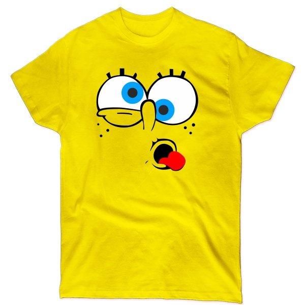 Мужская футболка Спанч Боб
