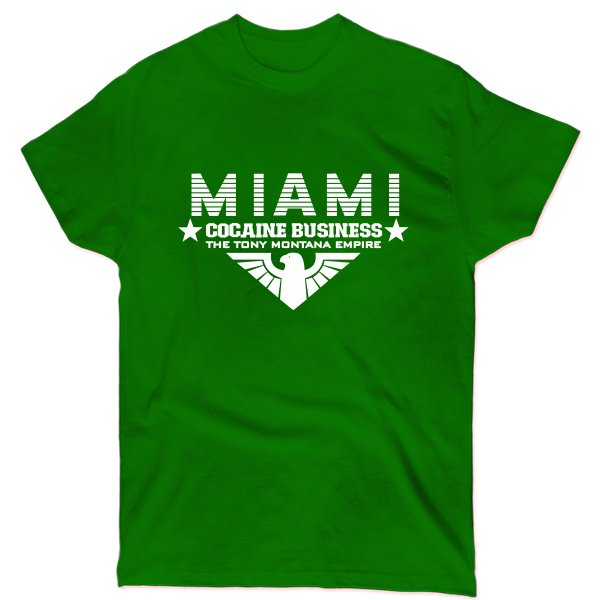 Мужская футболка Miami Cocaine Business