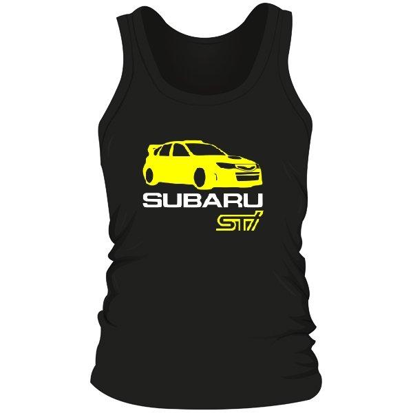 Мужская майка Subaru STI