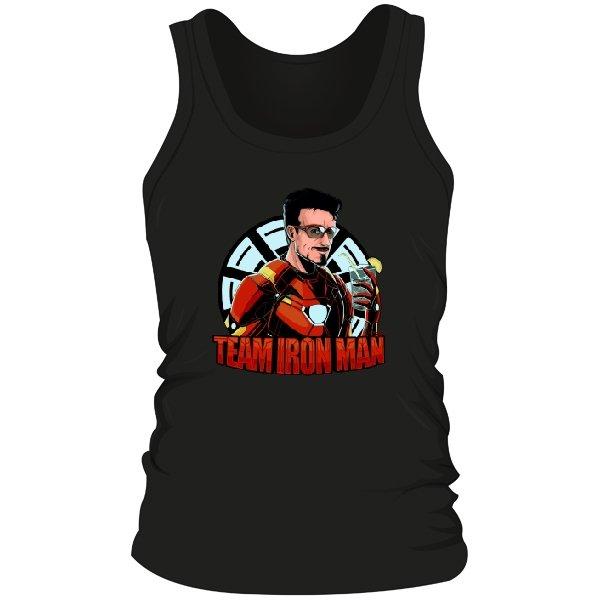 Мужская майка Команда Железного Человека