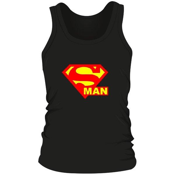 Мужская майка Со Знаком Супермена