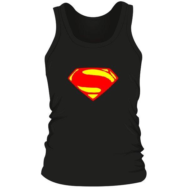 Мужская майка Superman new