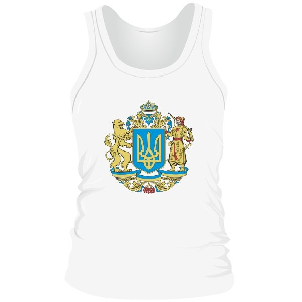 Мужская майка Большой Герб Украины