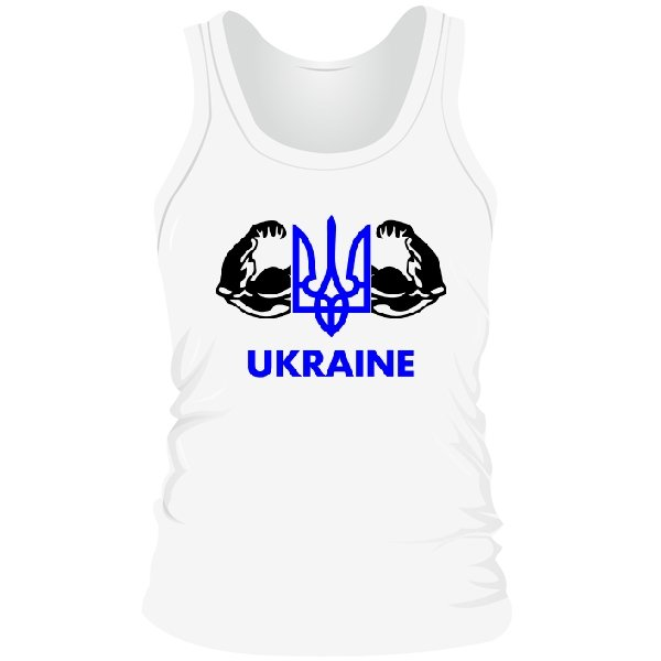 Мужская майка Сильна Україна