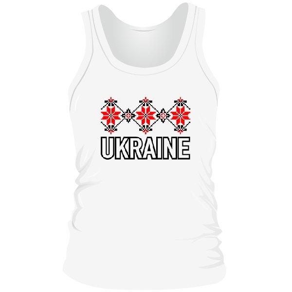 Мужская майка Орнамент Ukraine