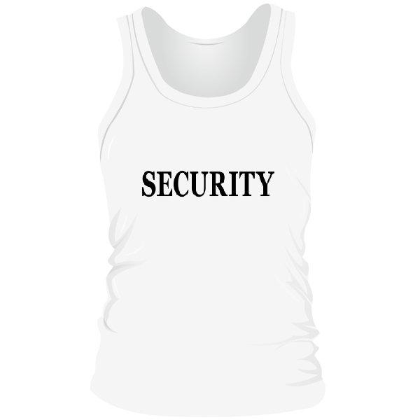 Мужская майка Security