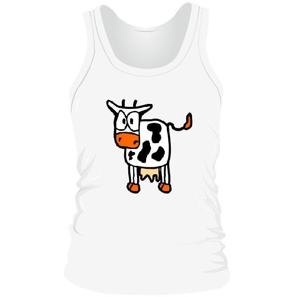 Мужская майка Корова