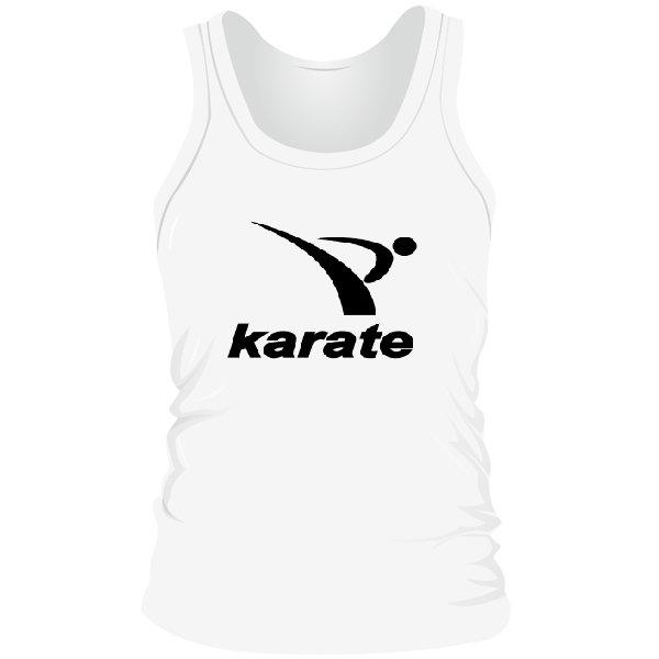 Мужская майка Karate лого