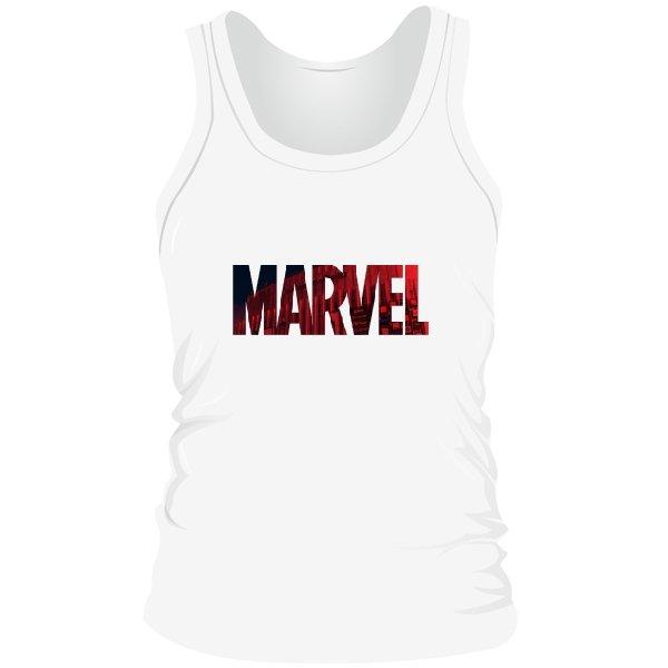 Мужская майка Marvel logo