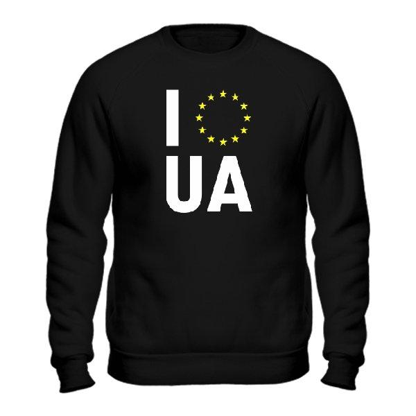 Мужской свитшот Объединение с Евросоюзом