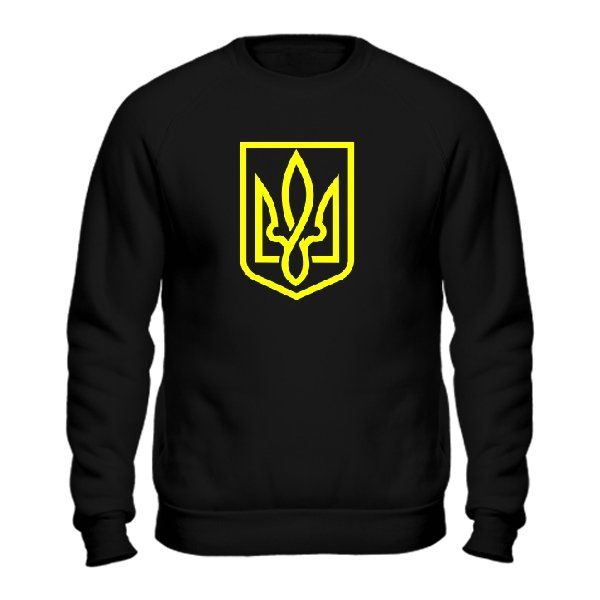 Мужской свитшот Український Тризубець