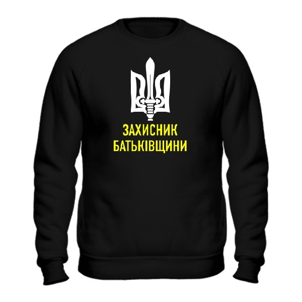 Мужской свитшот Захисник Батьківщини