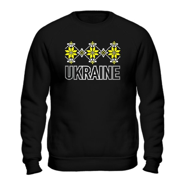 Мужской свитшот Орнамент Ukraine
