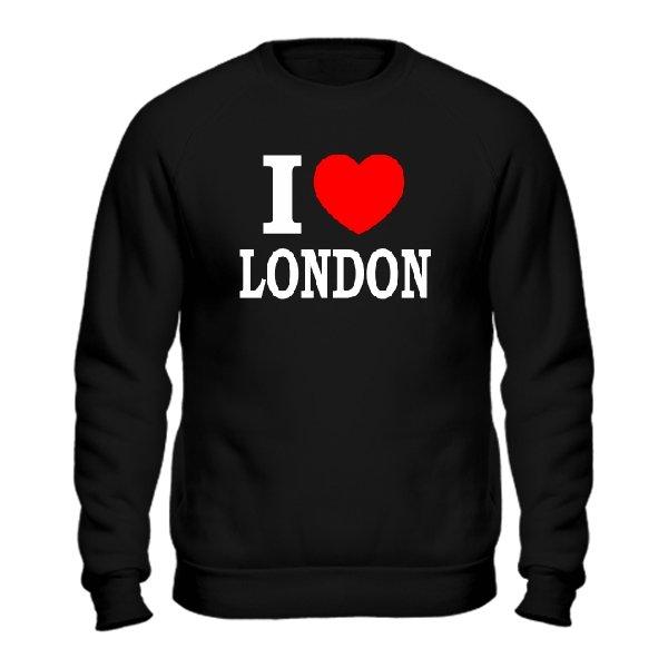 Свитшот Я люблю Лондон