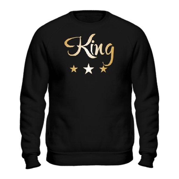 Свитшот Король