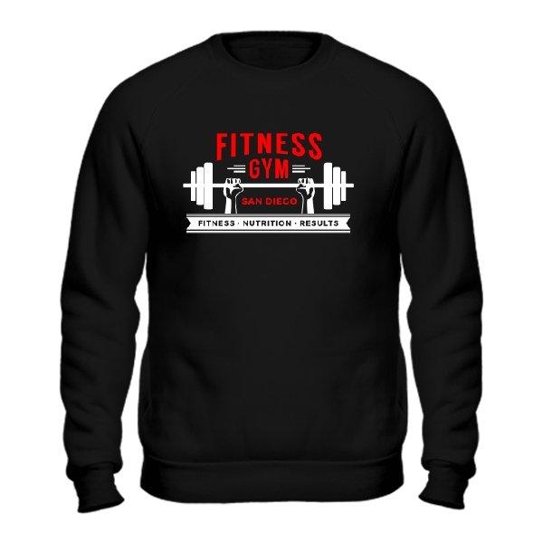 Мужской свитшот Fitness Gym