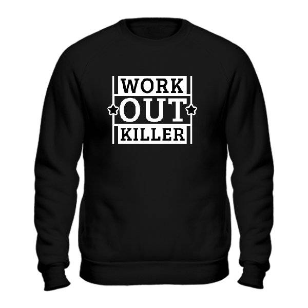Мужской свитшот Work Out Killer