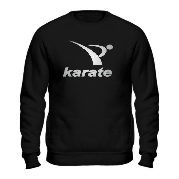 Мужской свитшот Karate лого