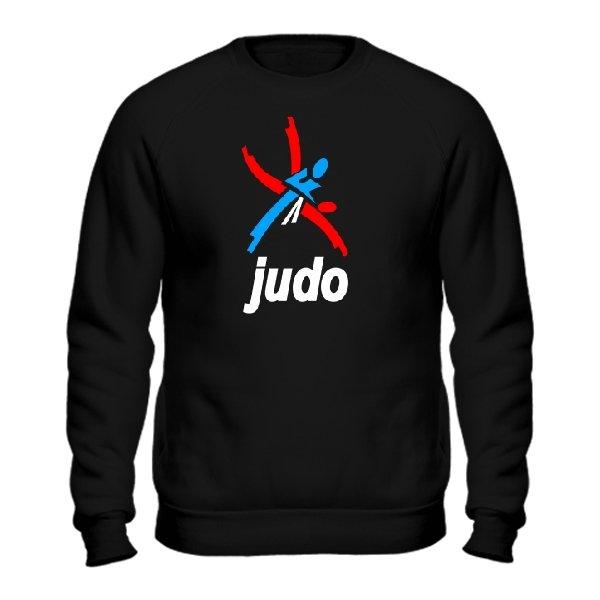 Мужской свитшот Логотип Дзюдо