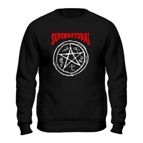 Мужской свитшот Supernatural