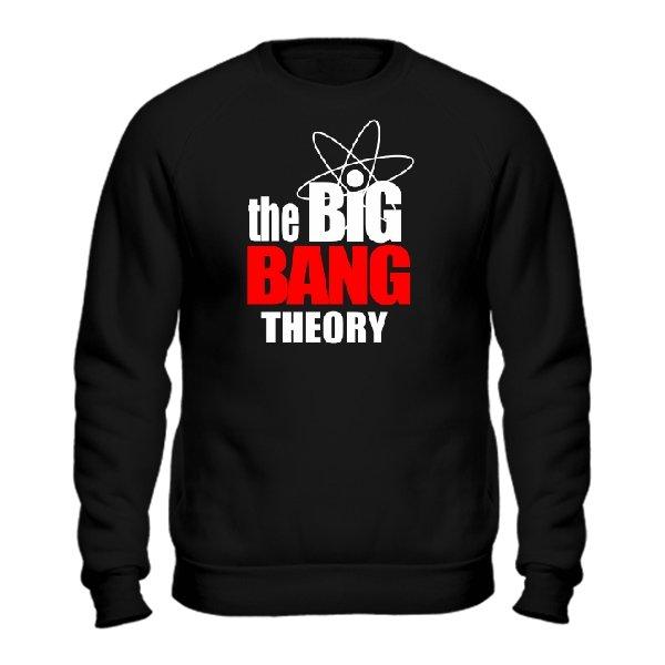 Мужской свитшот The big bang theory