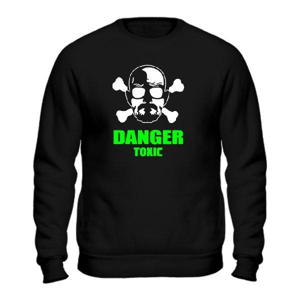 Мужской свитшот Danger Toxic