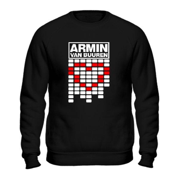 Мужской свитшот Armin van Buuren сердце