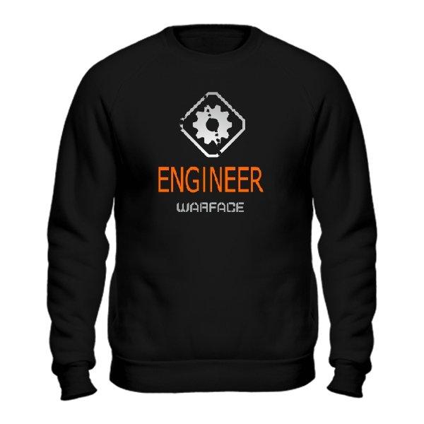 Мужской свитшот Warface Инженер