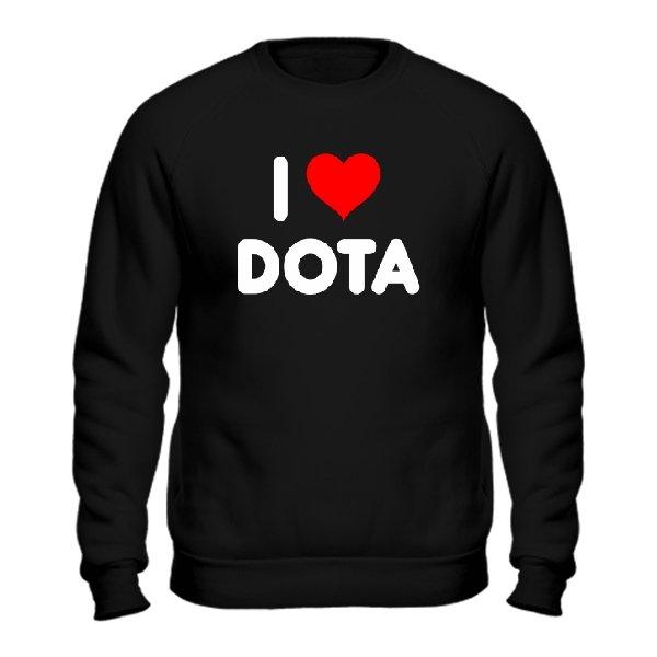Мужской свитшот I Love Dota