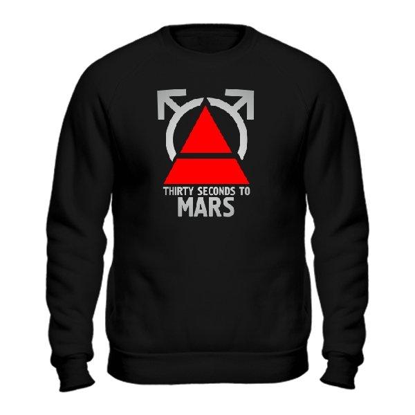 Мужской свитшот 30 Секунд до Марса