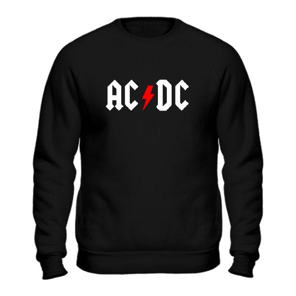 Мужской свитшот AC DC