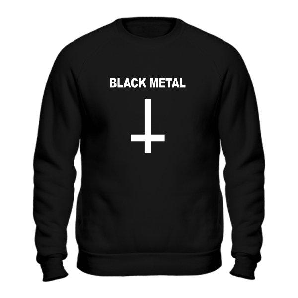 Мужской свитшот Black Metal