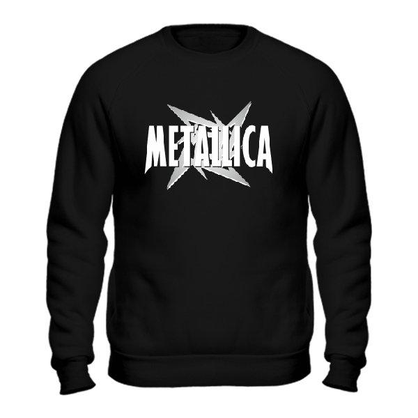 Мужской свитшот Metallica logo