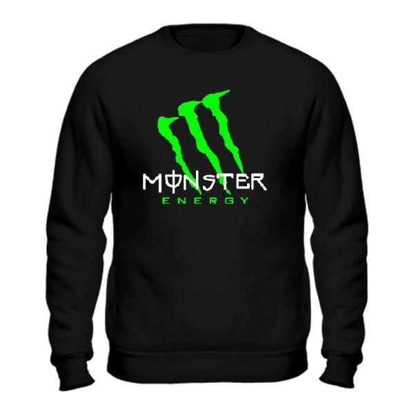 Мужской свитшот Monster Energy