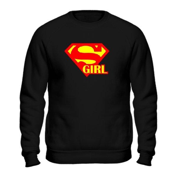 Мужской свитшот Super Girl