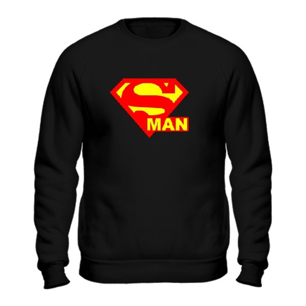 Мужской свитшот Со Знаком Супермена