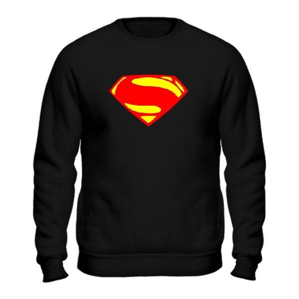 Мужской свитшот Superman new