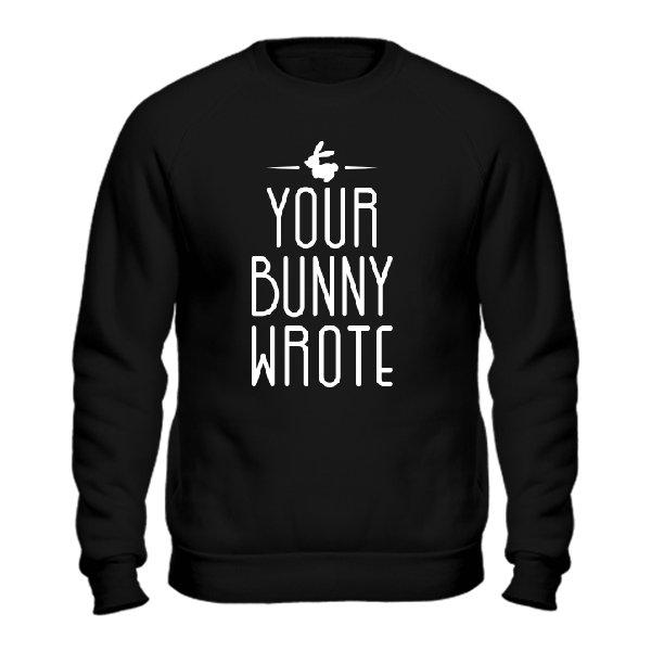 Cвитшот Ваш Кролик написал