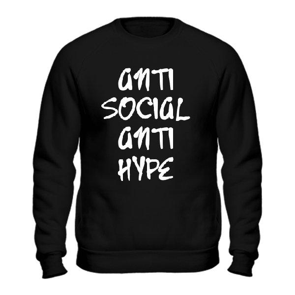 Cвитшот Anti Social Anti Hype