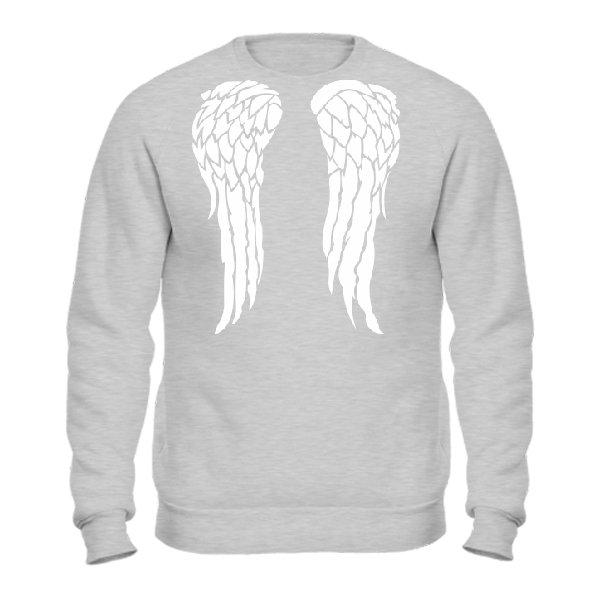 Мужской свитшот Ангельские Крылья