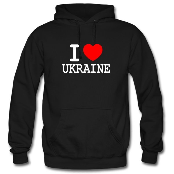 Толстовка Я Люблю Украину