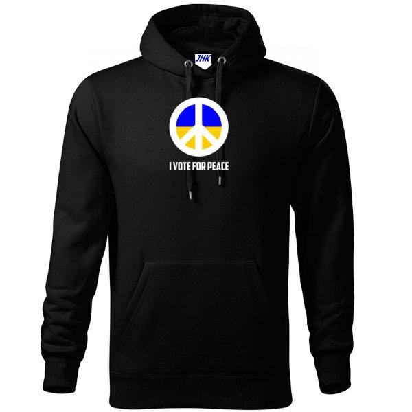 Толстовка Голосую за Мир
