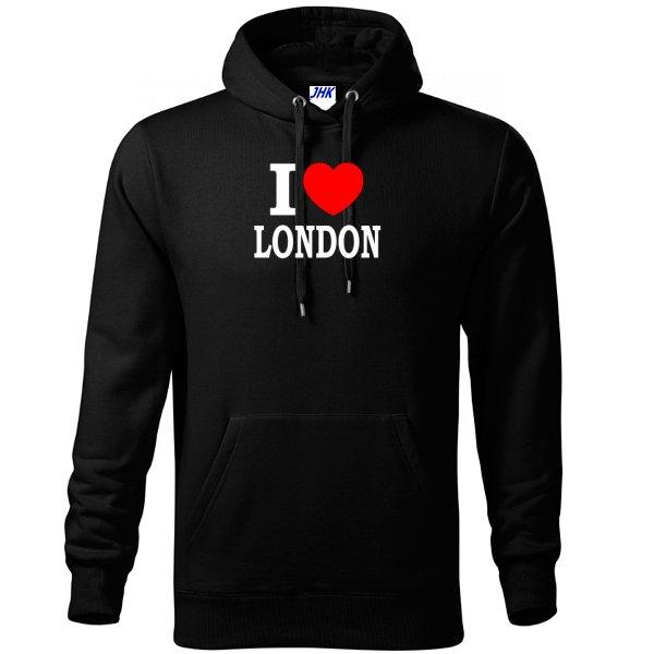 Толстовка Я люблю Лондон