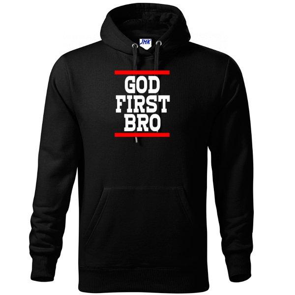 Толстовка Сначала Бог