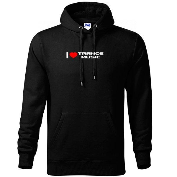 Толстовка I Love Trance Music