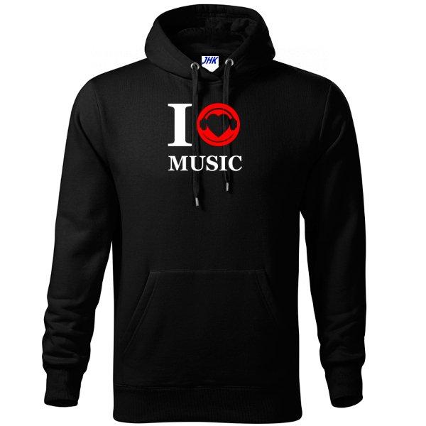 Толстовка Я люблю Музыку