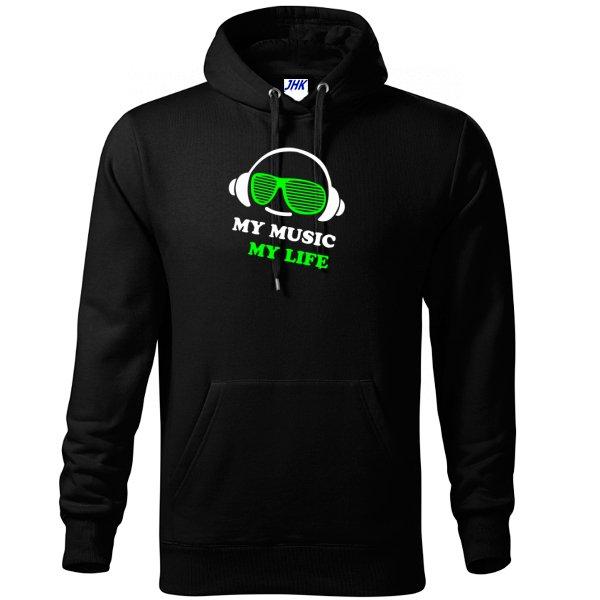 Толстовка Моя Музыка - Моя Жизнь