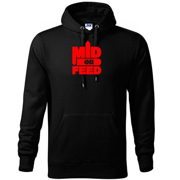 Толстовка Mid or Feed