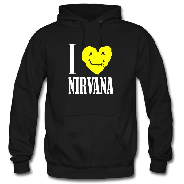 Толстовка I Love Nirvana