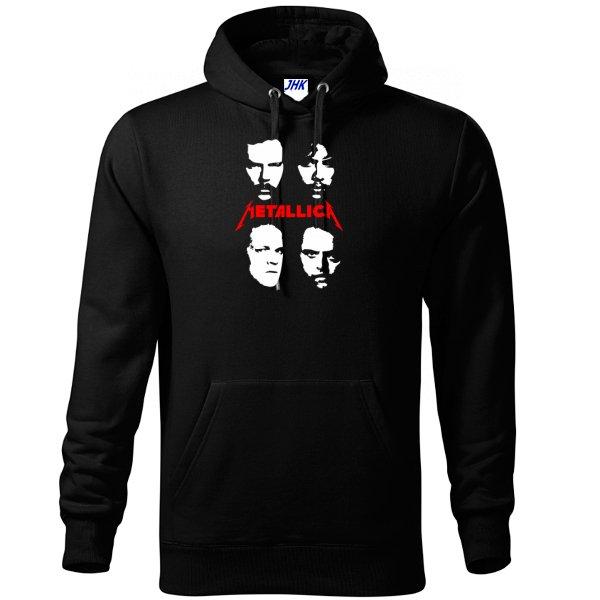 Толстовка Metallica лица